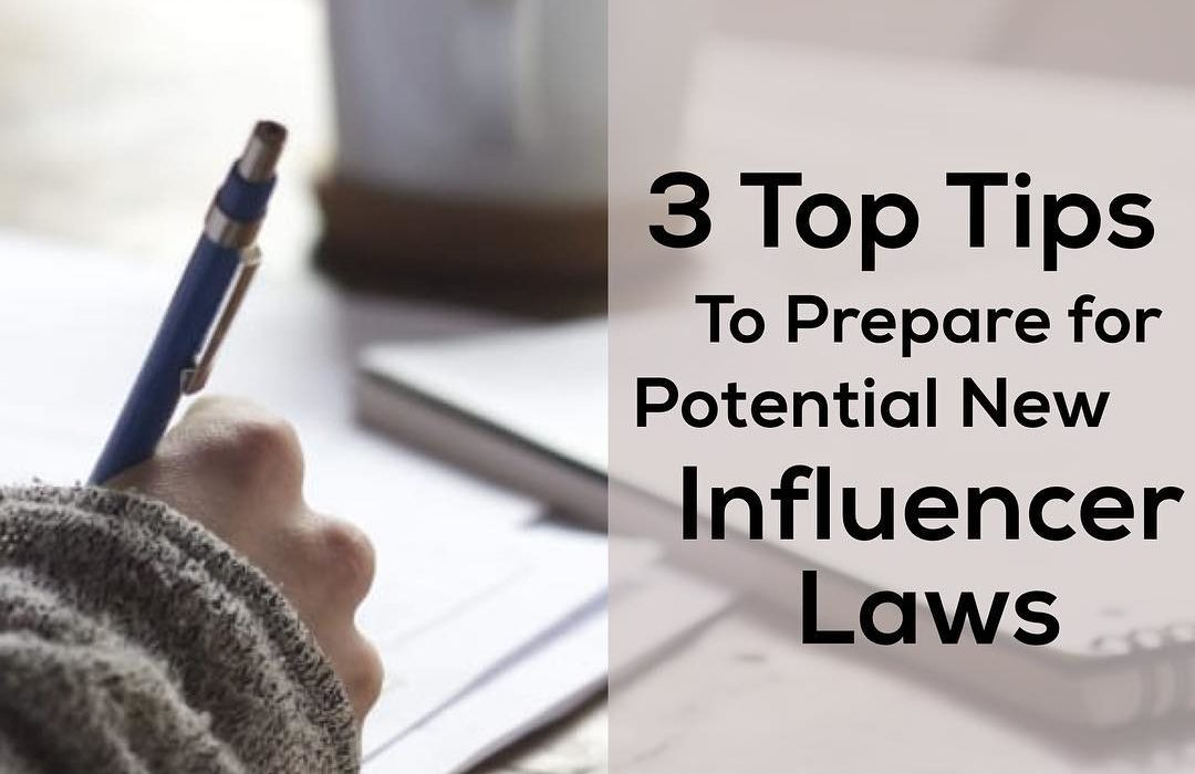 Influencer Laws