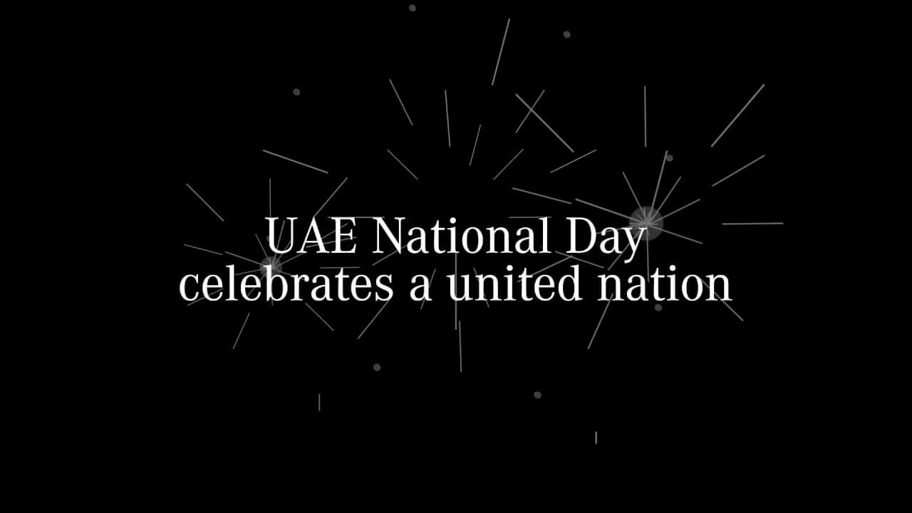 This National Day, we salute you, UAE